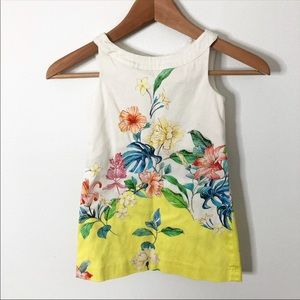 Zara Girls Soft Collection Floral Dress Size 6